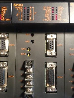 Mitsubishi Melsec A1SD70 positioning module  #2