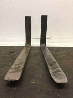 "Set of Forklift Forks 43"" Lx 4"" W x 21"" H"