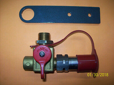 CNG Fill Nozzle With Bracket