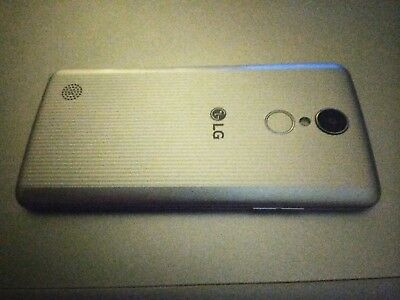 LG Aristo 16GB - Silver (T-Mobile) Smartphone (charger and case included)