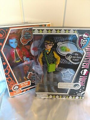 Monster High Signature Holt Hyde and Jackson Jekyll NEW in boxes