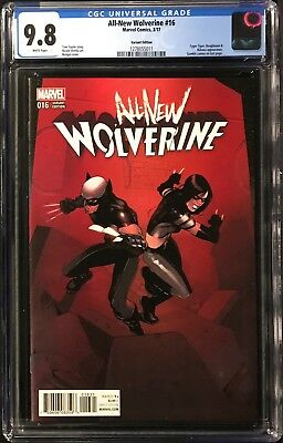 All-New Wolverine #16 CGC 9.8 Bengal Connecting Variant Cover!