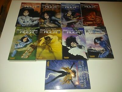 Battle Angel Alita 01-09 Carlsen Comics deutsch