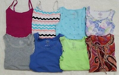 Girls tank tops size 12, 14, 16 lot & other sizes