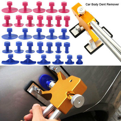 Car Paintless Dent Repair Dint Hail Damage Remover 28x Dent&Ding Puller Tab Tool