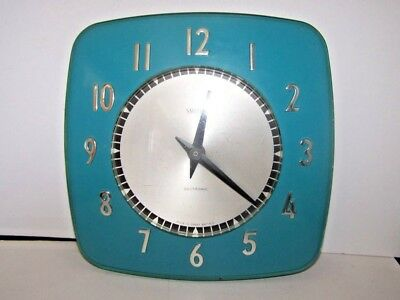 vintage Smiths Sectric Electric Wall Clock
