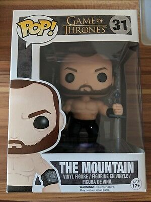 Funko Pop | The Mountain | Der Berg | Gregor Clegane | Game Of Thrones