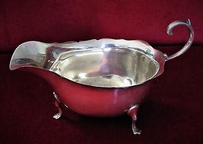 Antique Solid Silver Sauce Boat Horace Woodward & co Hallmarked 1915 fine
