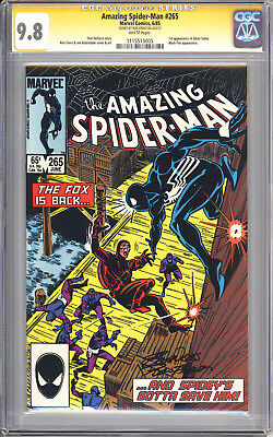 Amazing Spider-Man #265 CGC 9.8 SS Ron Frenz 1st Silver Sable Appearance