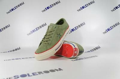 f32c4c14be7ffc Converse One Star OX Undefeated Olive 158894C US Sz 7 11 Green UNDFTD Suede  Rare