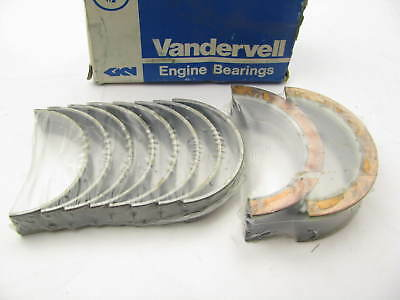 CLEVITE MS1432A10 Bi-Metal Main Bearing Set for Ford 351W 400 1977-97 .010