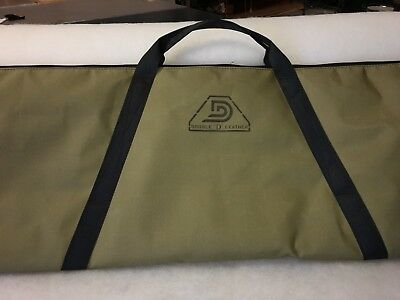 Metal detecting denier padded carry bag budget (suit minelab) Gpx series  gold