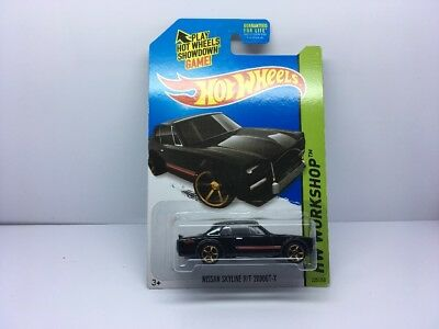 Hot Wheels 2014 Nissan Skyline H/T 2000GT-X Black Import Rare HTF Die Cast New