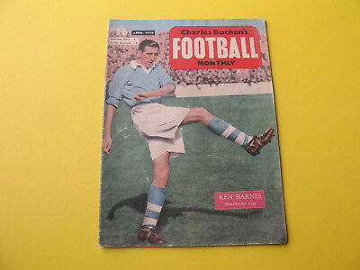 Charles Buchans Football Monthly Magazine April 1956