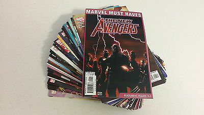 The New Avengers Lot of 49 Books Bendis Finch Spiderman Iron Man Captain America