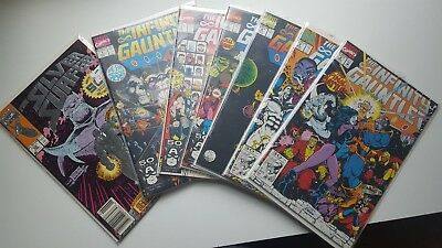 Infinity Gauntlet 1-6 The Silver Surfer 50 and Infiniti War 1-6!