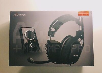 Astro A40 MixAmp Edition Black Headband Headsets for Xbox, PS3, & PC