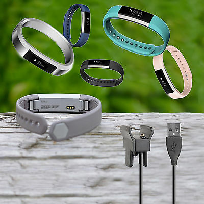 For Fitbit Alta USB Replacement Charging Cable Charger Cord Smart Watch Tracker