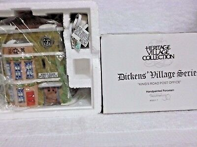 Dept 56 Dickens Village Kings Road Post Office - 58017