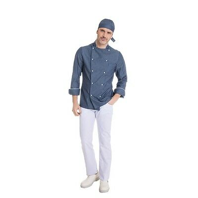 Chef Jacket Large loose shirt Chef Man Cooking Uniform Cotton working Jeans