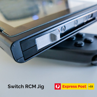 2x RCM Jig With Copper Wire for Nintendo Switch Recovery Mode Homebrew Jailbreak