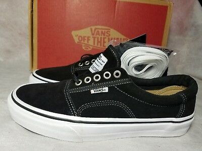 02f26cfbb13daf New Vans Rowley Pro Solos Suede Black Pewter White Canvas Skate Shoe Men  Size 7