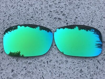 Polarized Green Custom Mirrored Replacement Oakley Twoface Lenses