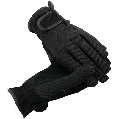 (Black, Small) - Horze Multi Stretch Riding Gloves. Brand New