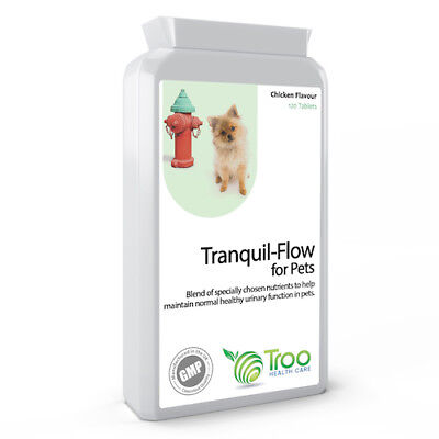 Tranquil-Flow Pet Urinary Support & Kidney Function in Pets 120 Tablets
