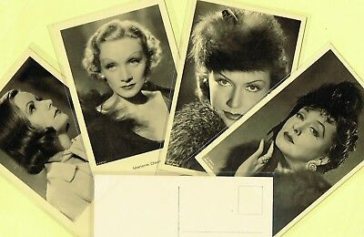 ROSS VERLAG - 1930s Film Star Postcards produced in Germany #A2000 to #A2165