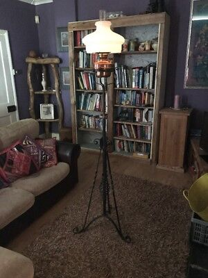 parrafin lamp and stand