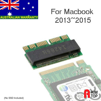 M.2 / NGFF PCIe AHCI SSD to 12+16pin Macbook 2013~2015 Converter / Adapter