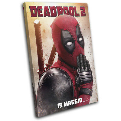 Textless Portrait Deadpool HQ Print A4 DEADPOOL NEW MOVIE POSTER A3