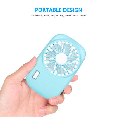 Mini Portable USB Rechargeable Hand Held Air Conditioner Summer Cooler Fan
