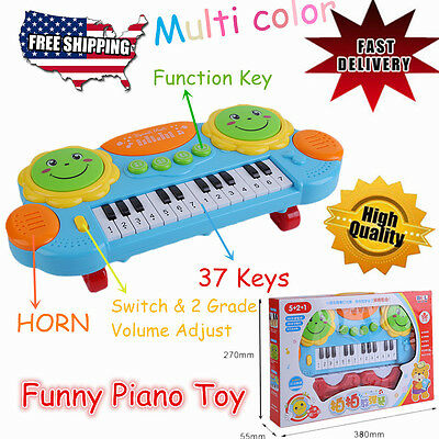 Electric Piano for Kids BABY Keyboard Children Music Educational Toy 37 KEYS EXC