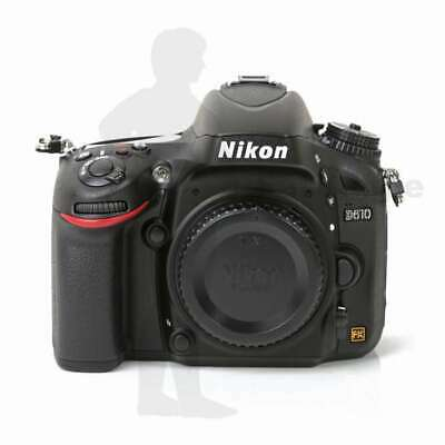 Véritable Nikon D610 Digital SLR Camera Body Only Black