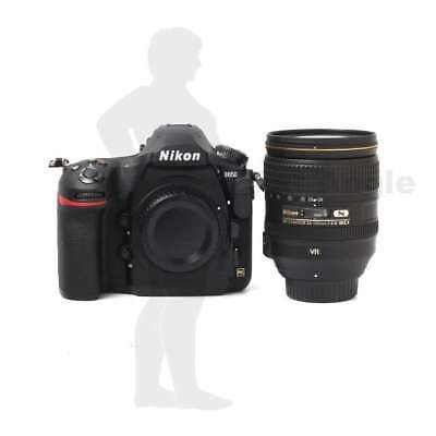 Véritable Nikon D850 Digital SLR Camera + AF-S 24-120mm f/4G ED VR Lens Kit