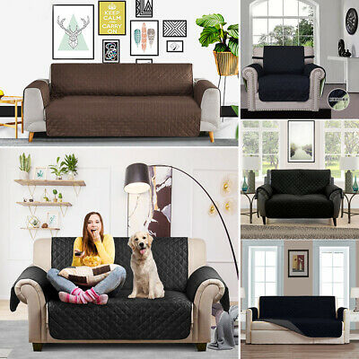 Modern Sofa Couch Covers Slip Slipcover Pet Protector 1 2 3 Seater Lounge 3Color