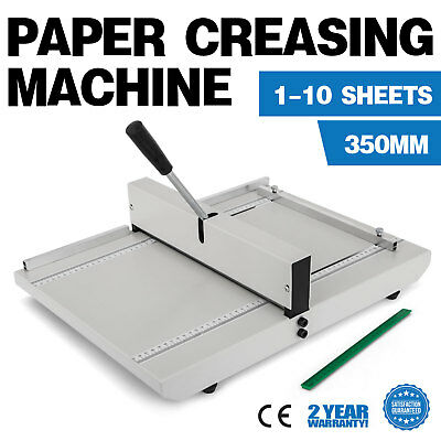 Desktop 35cm Manual Scoring Paper Creasing Machine Creaser Scorer Accurate Ruler