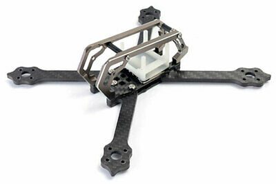 DT 2018 GT M3 Streched X FPV Racing Quadcopter 3 Zoll Frame - Titanium