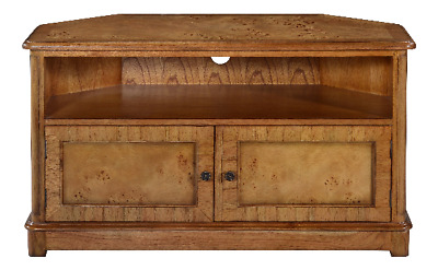 Richmond Burr Walnut TV Cabinet H61 x W107 x D53 cm Antique Reproduction
