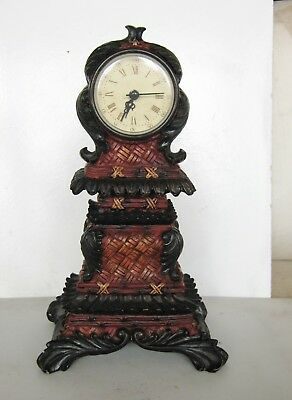 Mantle Clock, Pagoda Style,