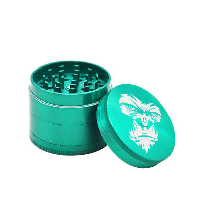 HORNET KING KONG 50MM Metal Zinc alloy 4 Layers Tobacco Spice Herb Grinder-Green