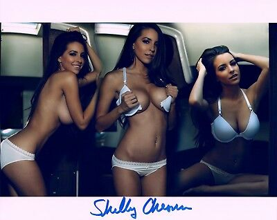 SHELBY CHESNES  Autograph Signed 8X10 PHOTO #53 PLAYBOY PLAYMATE JULY 2012