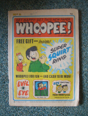 WHOOPEE! COMIC No.1 9TH MARCH 1974 - NO FREE GIFT