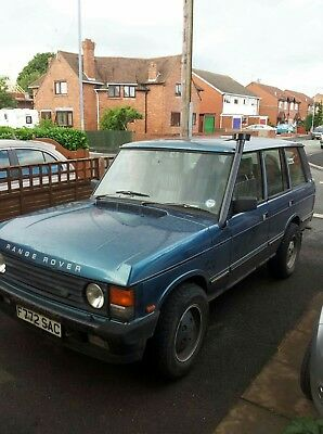 Range Rover Classic Project