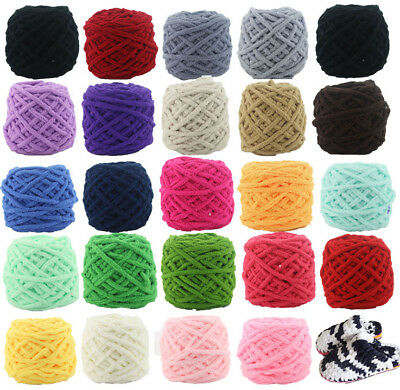 SALE LOT of 1 Skein x 100gr NEW Chunky Colorful Hand Knitting Scores Wool Yarn