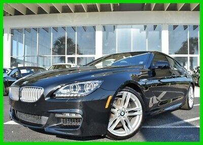 BMW 6-Series 650i xDrive Gran Coupe ~~ LOW MILES ~~ 1-OWNER ~~ CLEAN CARFAX ~~ 2015 650i xDrive Gran Coupe Used Turbo 4.4L V8 32V Automatic AWD Sedan Moonroof