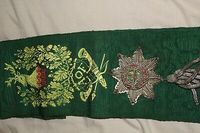 Ancient Order of Foresters Sash