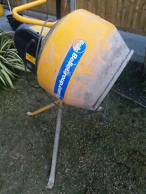 Belle Mastermix MC110 Electric Cement Mixer 240v - used condition working order